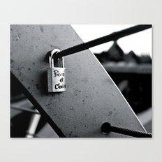 Love Locks 2012 16 Canvas Print