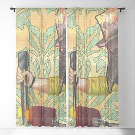 Plague Gaffer Sheer Curtain