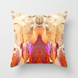 Bear the Rottweiller Throw Pillow