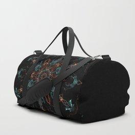 Metatron Vibes Mandala Duffle Bag