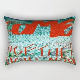 Come Togheter. Rectangular Pillow