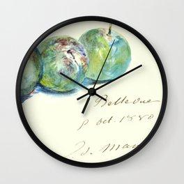 """Édouard Manet """"Letter (Lettre)"""" Wall Clock"""
