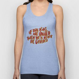 Kids United - White Unisex Tank Top