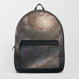 Hubble Space Telescope - The Whirlpool Galaxy (M51) and companion galaxy (2005) Backpack