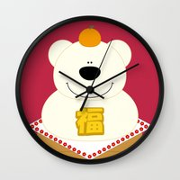 japanese Wall Clocks featuring JAPANESE by SANTA