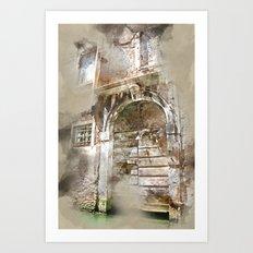 Beauty of Venice  Art Print