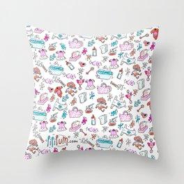 Baby's handbag Throw Pillow
