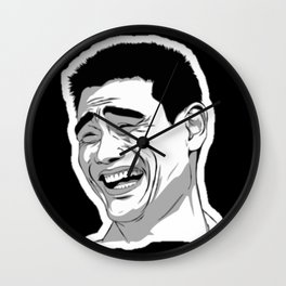 MEME LMAO Wall Clock