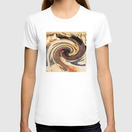 Swirl 07 - Colors of Rust / RostArt T-shirt