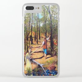 Hansel and Gretel Clear iPhone Case