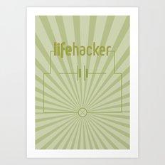Essence of Lifehacker Art Print
