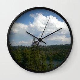 Tranquil Lake Wall Clock
