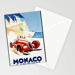 Monaco 1937 Grand Prix Stationery Cards