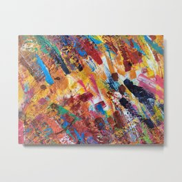 Abstract DH 004 Metal Print