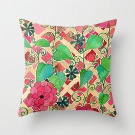 Cherry Tart Throw Pillow