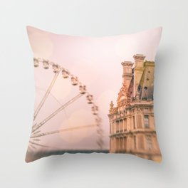 Mon Ami, Paris! Throw Pillow