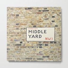Middle Yard - London Metal Print