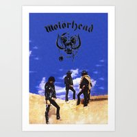 Motorhead Art Print