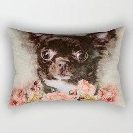 Chihuahua puppy sketch Rectangular Pillow