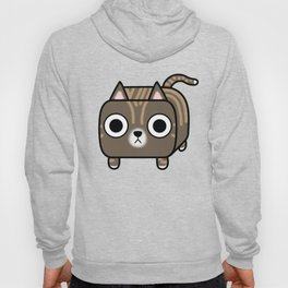Cat Loaf - Brown Tabby Kitty Hoody