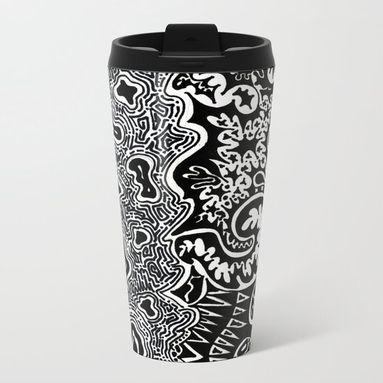 Dependent Existence / The Sun and The Moon Metal Travel Mug