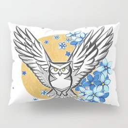 Oracle Owl Pillow Sham