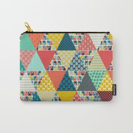 llama geo triangles Carry-All Pouch