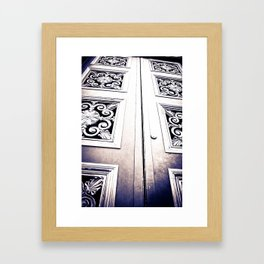 Don't Come A' Knockin' Framed Art Print