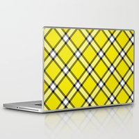 clueless Laptop & iPad Skins featuring Cher Tartan by Pia Spieler