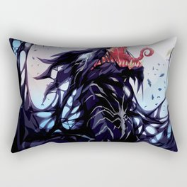 Venom Dragon Rectangular Pillow
