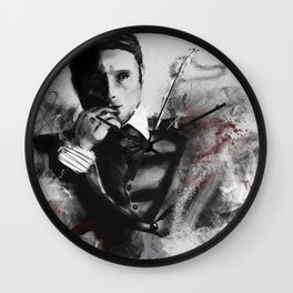 Dr. Hannibal Lecter Wall Clock