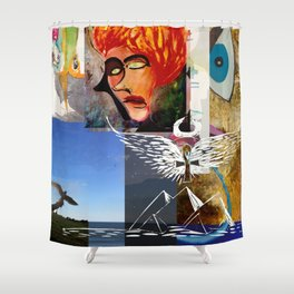 Ankh If You Love Isis Shower Curtain