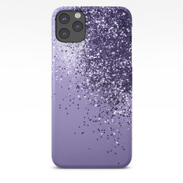 ULTRA VIOLET Glitter Dream #1 #shiny #decor #art #society6 iPhone Case