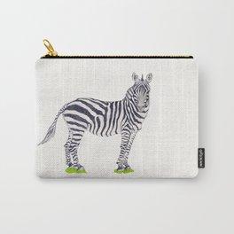 Zebra Sketch Carry-All Pouch