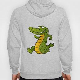 Cartoon crocodile Hoody