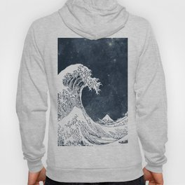 The Great Wave of a Star System Hoody