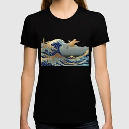 The Great Waves by Hokusai T-shirt