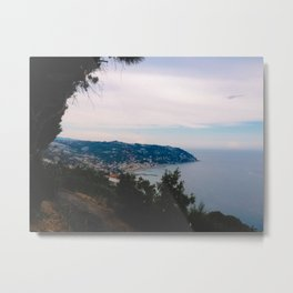 French Riviera Sightseeing Metal Print