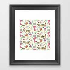 Leah's Kitchen Framed Art Print