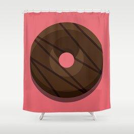 1DONUT - Chocolate Indulgence Shower Curtain
