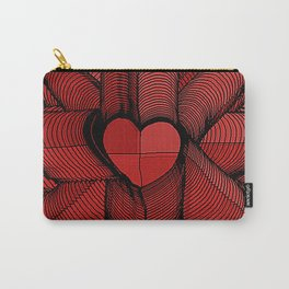 Meeting of Hearts - 3 Carry-All Pouch