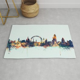 London England Skyline Rug