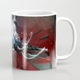 3d Graffiti sketch 75 Coffee Mug