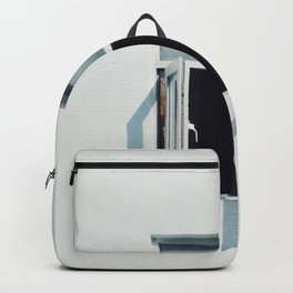 PHOTO OF WHITE GLASS PANEL WINDOW Backpack