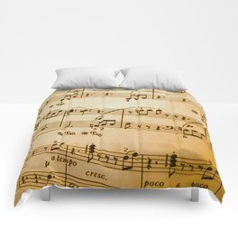 Music Sheet Comforters