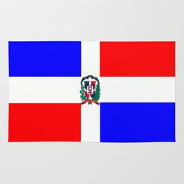 Flag of Dominican Republic Rug