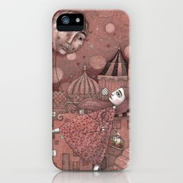 Strawberry Moon in June iPhone Case