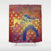 egypt Shower Curtains featuring Egypt-Rebellion by JeffAllenArtwork