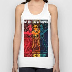 We Are Tribal Women ~ The Deep Soul Tribe Unisex Tank Top