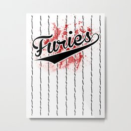 Baseball Furies - The Warriors Metal Print